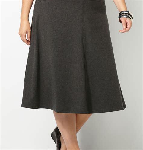 ponte knit skirt ponte knit skirt plus size skirts avenue