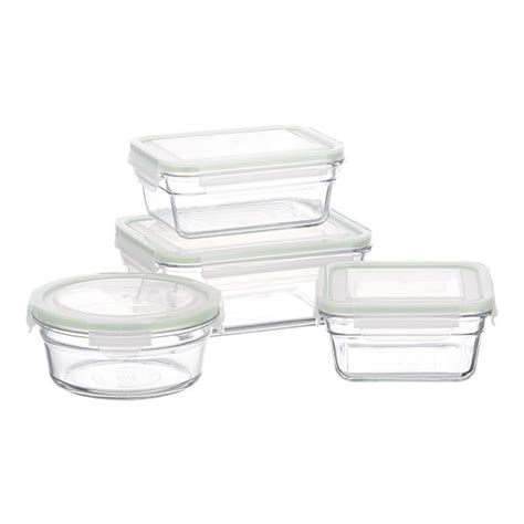 glassware storage containers glass food storage containers a