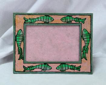 Handmade Paper Photo Frames - handmade nepal supporting crafting families for 3