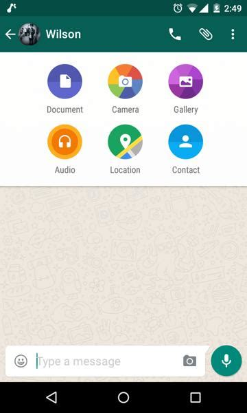 whatsapp nearby apk whatsapp now allows you to documents in chats tech top hindustan times