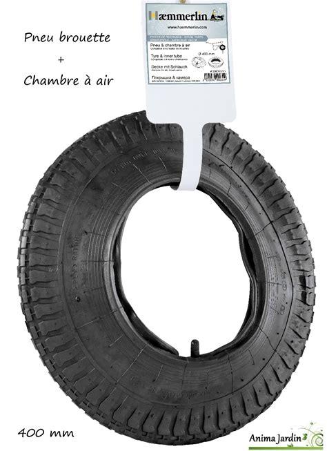 pneu et chambre 224 air de brouette 400 mm r 233 paration de