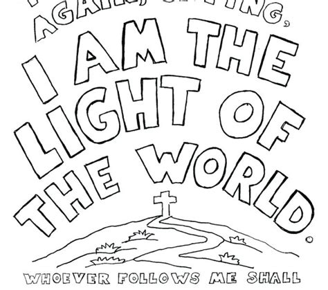 lights of the world 2018 emejing jesus is the light of the world coloring page