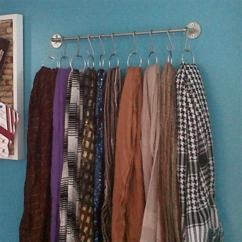 organize scarves in closet best 25 storing scarves ideas on scarf