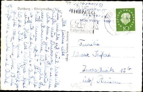 dresdner bank duisburg ansichtskarte postkarte duisburg k 246 nigstr tram