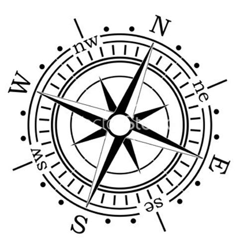 treasure map compass clipart best
