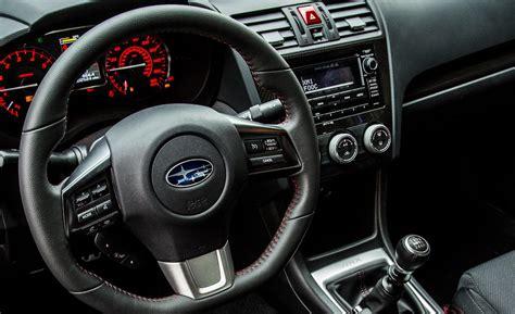 subaru impreza wrx 2017 interior car and driver