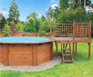 pool terrasse holz swimmingpool in sonderaktion