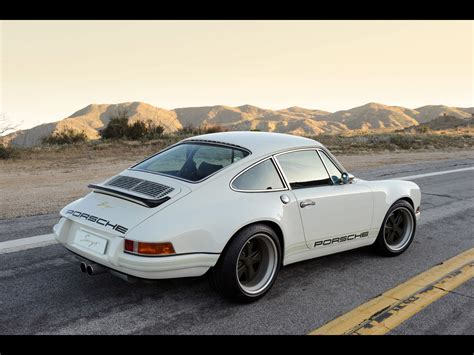 singer porsche wallpaper white singer porsche 911 side up wallpapers white