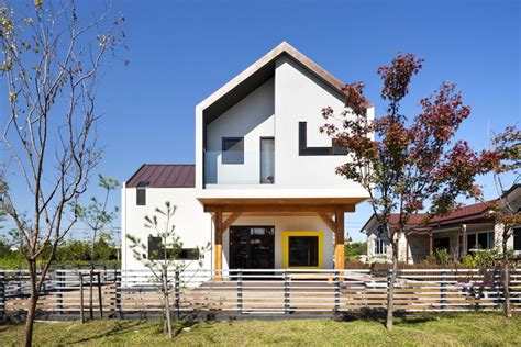modern home design korea modern t shaped house in south korea idesignarch