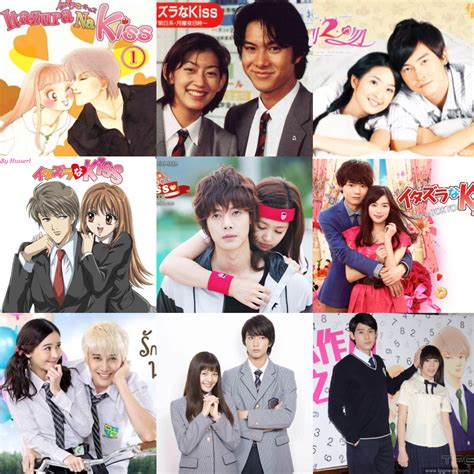 film itazura na kiss all the versions 1990 1997 itazura na kiss manga 1996