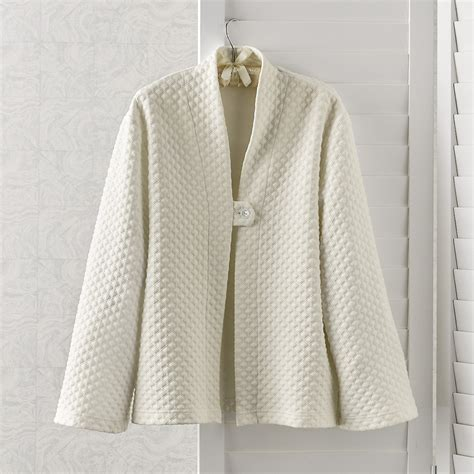 sleep jacket quilted sleep jacket gump s