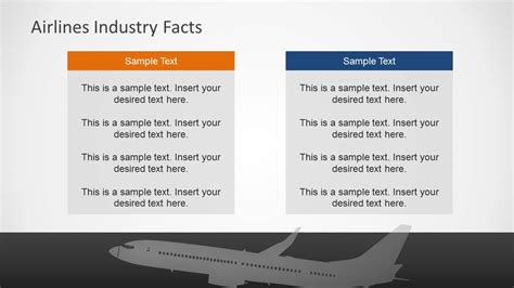 Airlines Industry Powerpoint Template Slidemodel Powerpoint Templates Airline Industry
