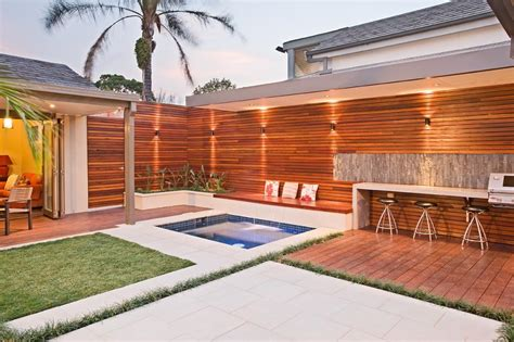 backyard entertainment area creating outdoor living spaces on a budget outdoor