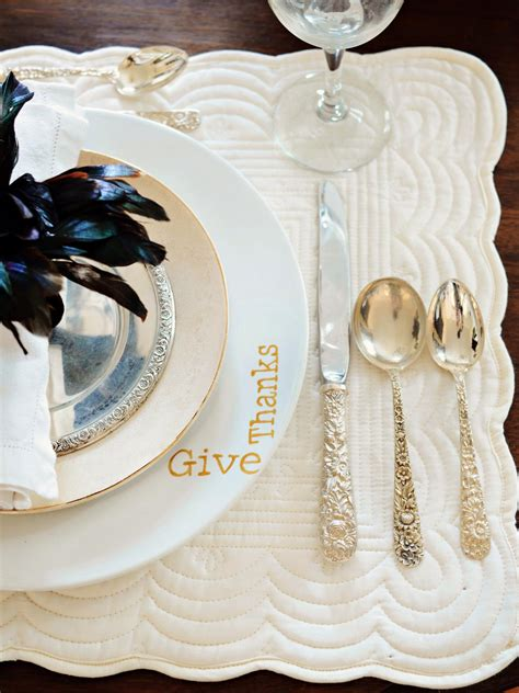 How To Decorate Dinner Plates by How To Make Painted Plates Hgtv