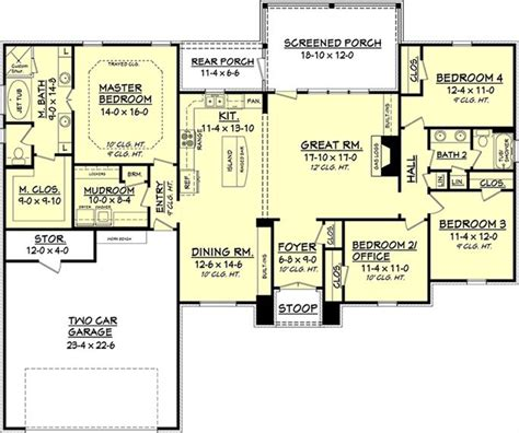 house plans for 3000 sq ft bungalow 3000 sq ft open floor plans thefloors co