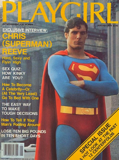 christopher reeve time magazine playgirl magazine january 1979 christopher reeve in