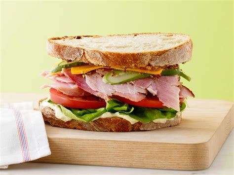 Country Kitchen Wallpaper Ideas ultimate ham sandwich recipe food network kitchen food