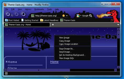 firefox themes edit 10 insanely cool firefox themes brand thunder