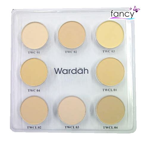 Bedak Wardah Ivory jual wardah luminous two way cake refill fancy grosir