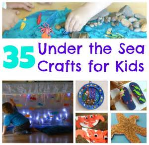 Sea Crafts For Kids - 35 under the sea crafts for kids crafts on sea