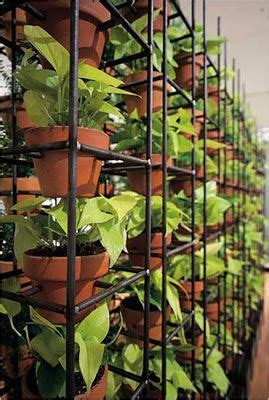 use reinforcing mesh to create a vertical garden rethink