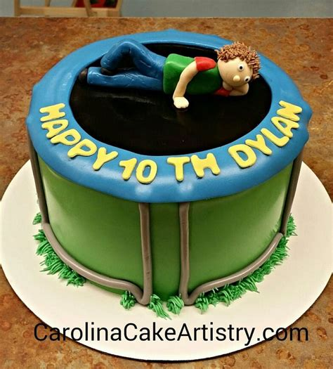 Images About Trampoline Cakes On Pinterest Image