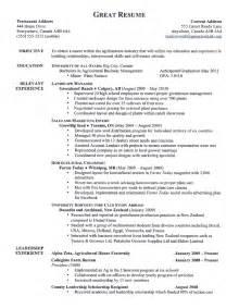 Resume Writing Center Exles Of Resumes Resume Exle Writing Call Center Objectives Regarding Simple