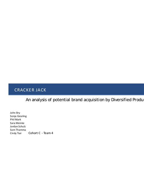 Mba Project Analysis Of Advertisement Of Drands by Mba Integrated Brand Project Cracker