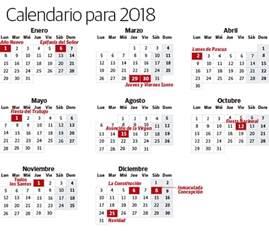 Calendario 2018 Dias Festivos Mexico Calendario Laboral 2018 Festivos Y Puentes En Euskadi