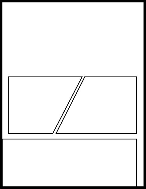 manga template 56 by manga template on deviantart