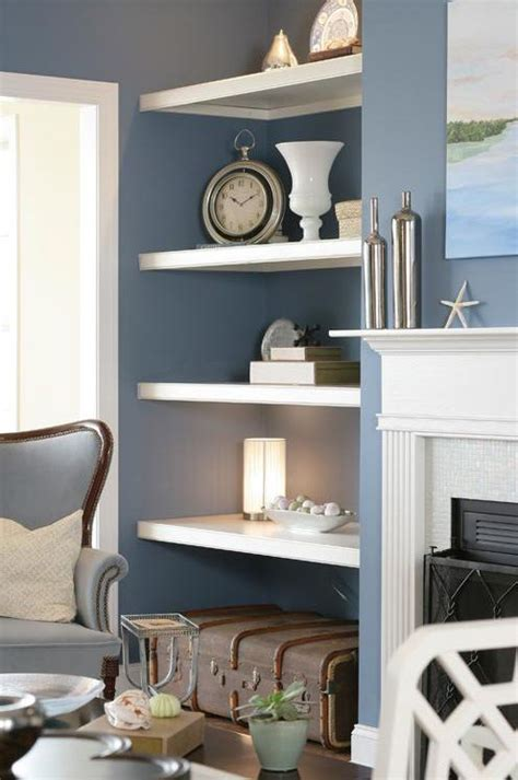 shelves for living room wall top model home fireplaces the white and model homes