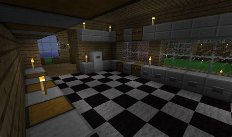 minecraft kitchen design   time  youtube