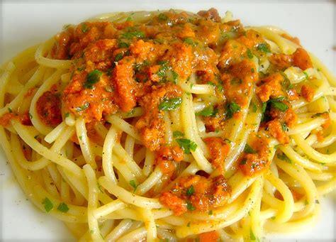 rana pescatrice come cucinarla spaghetti con i ricci il profumo mare sulla tua tavola