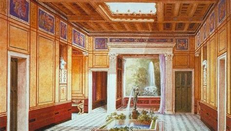 House Of The Tragic Poet Floor Plan stunning animations show the layout of roman domus house