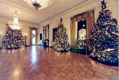 white house gold room holidays at the white house 1996