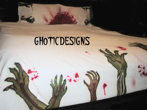 zombie comforter zombie bedding duvet and pillow cases full size by