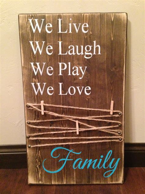 picture holder wood sign mom rustic wood sign mothers