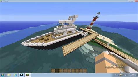 modern boat minecraft modern boat youtube