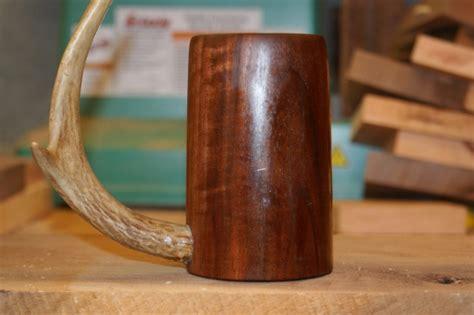 antler beer mug rosewood goblet woodworking talk