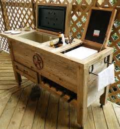 Diy Patio Bar Ideas by 19 Clever Diy Outdoor Cooler Ideas Let You Keep Cool In