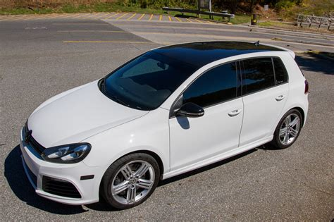 Modded Golf R by 2012 Vw Golf R White With Black Vinyl Roof Modded