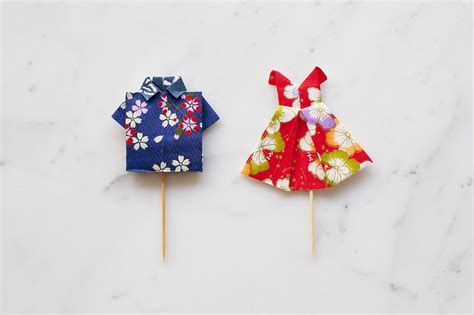 Origami Birthday Decorations - diy birthday decorations origami clothes everywhere