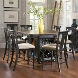 kitchen island dining set avalon furniture rivington traditional 7