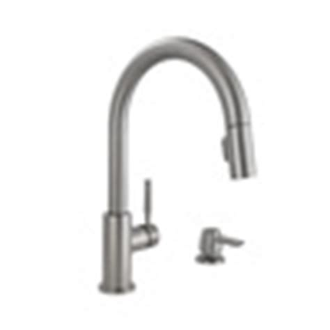 shop delta trask touch2o spotshield stainless 1 handle shop delta trask stainless steel 1 handle pull down