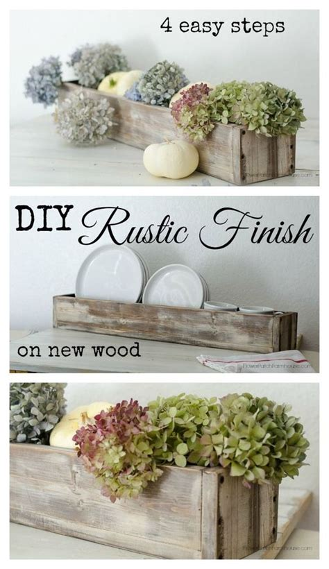 where to get barn wood how to get a rustic finish on new wood in 4 steps