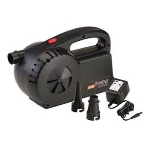 coleman rechargeable quickpump cingcomfortably