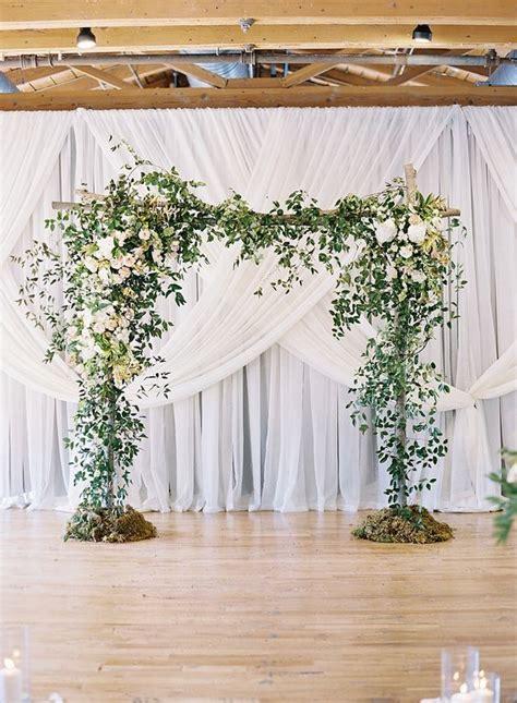 Stunning Indoor Wedding Arch Ideas to Accent Weddings unique way ? WeddCeremony.Com