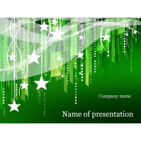 new year powerpoint template background for presentation