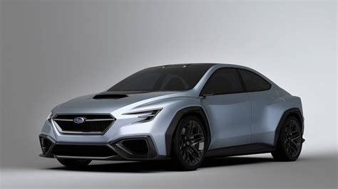 subaru concept viziv subaru viziv performance concept is slightly larger than