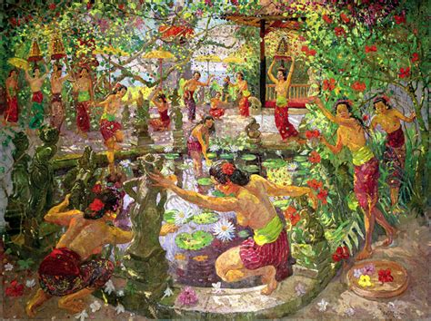 Lukisan Adrien Jean Le Mayeur De Merpres De Meisje Bali In Morgen 10 lukisan master indonesia termahal sepanjang masa